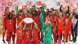 Pour la dernière rencontre de Franck Ribéry et Arjen Robben à l'Allianz Arena, le Bayern Munich s'est imposé face à Frankfurt (5-1), synonyme de titre de...