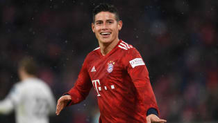 Win Bayern Munich returned to the top of the Bundesliga after a ​convincing win over strugglers Mainz, with a James Rodriguez hat-trick helping the Bavarians...