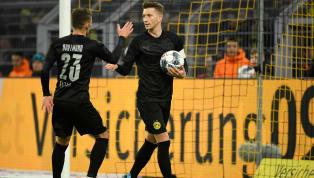Als die Spieler vonBorussia Dortmundam Samstagnachmittag den Platz betraten, fiel ein Umstand sofort auf: Marco Reus, Julian Brandt und Co. hatten nicht...