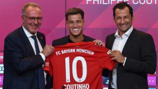 German giants Bayern Munich have just secured the signing of Philippe Coutinho fromBarcelona on a one-year loan deal with a €120m purchase clause. The...