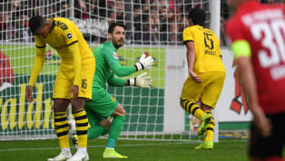 ints It is now three 2-2 draws in a row for Borussia Dortmund in the ​Bundesliga as they failed to close out the game away at Freiburg. ​Bayern's home loss to...