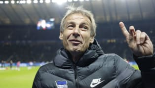 ​Former German national team manager and current Hertha Berlin coach Jurgen Klinsmann may not be allowed in the dugout this weekend to oversee his side's...