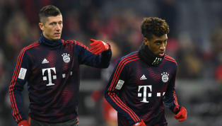 Bayern Munich stars Robert Lewandowski and Kingsley Coman had to be separatedby their teammates at training on Thursday after a fight broke out between the...