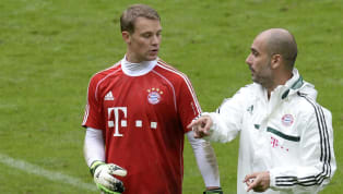 Bayern Munich CEO Karl-Heinz Rummenigge has revealed that Pep Guardiola was considering playing goalkeeper Manuel Neuer in midfield during his spell as Bayern...