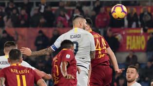 Inter Mailand  🚨 | FORMAZIONE 📋I nostri 1⃣1⃣per #InterRoma #FORZAINTER 👊⚫🔵 pic.twitter.com/iorzXj1MUA — Inter (@Inter) April 20, 2019 AS Rom TEAM NEWS | 📋...