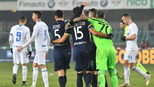 Time Inter suffered a late setback against Serie A's bottom club Chievo, as Sergio Pellissier's goal in added time secured a 1-1 draw for the hosts on...