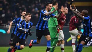 Inter mendapatkan kemenangan penting dengan skor 4-2 atas Milan di San Siro dalam pertandingan pekan ke-23 Serie A 2019/20 pada Senin (10/2) dini hari WIB....