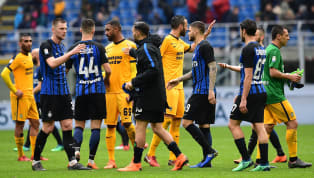 lash Inter go in search of their third consecutive Serie A victory as they host Hellas Verona at San Siro. Interthrew away a 2-0 lead in midweek to lose 3-2...