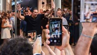Alors qu'il a été officiellement présenté à la presse après sa visite médicale, Gianluigi Buffon s'est dit tout heureux de retrouver sa maison de la Juventus...