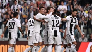 etto ​Juventus secured their eighth successive Serie A title with five games to spare as they ran out 2-1 winners over Fiorentina at the Allianz Stadium....