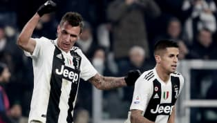 Juventus, Kendi Sahasında Inter'i Mario Mandzukic'le Geçti