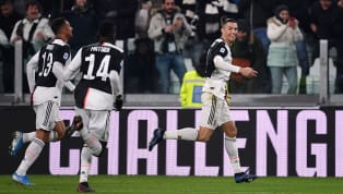 tory Cristiano Ronaldo's brace helped Juventus take advantage of Inter's slip up at Lecce with a narrow 2-1 win over Parma, sending the hosts four points clear...