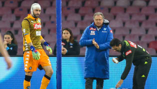 ​David Ospina was stretchered off after collapsing during Napoli's Serie A clash with Udinese on Sunday. The Arsenal loanee was treated for a head injury...