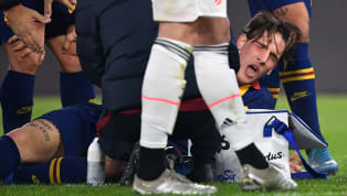 AS Roma's Nicolo Zaniolo who's been on the transfer radar for many a clubsthis season, includingManchester UnitedandTottenham,suffered a damningACL...