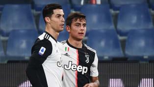 Cristiano Ronaldo accidentally kissed Paulo Dybala on the lips when celebrating his second goal forJuventusagainst Parma last evening.Ronaldo scored both...
