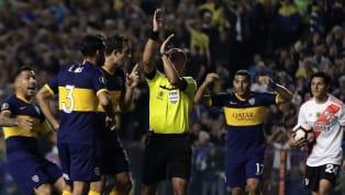 Por la semifinal de vuelta de laCopa Libertadores de América 2019,Bocavenció 1 a 0 anteRiveren La Bombonera y quedó eliminado por la derrota 0-2 de...