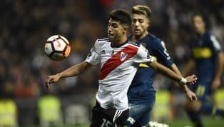 Exequiel Palacios se recupera de su lesión sufrida frente a Racing el pasado 10 de febrero donde se fracturó el proximal del peroné a los 31 minutos del...