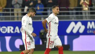  🚨 ONCE INICIAL del #SevillaFC: Vaclík, Sergi Gómez, Kjaer, Mercado, Jesús Navas, Wöber, Rog, Banega, Sarabia, Munir y Ben Yedder. #UEL #vamosmiSevilla...