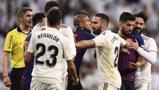 Dünyanın en önemli derbilerinden biri olarak gösterilen ve El Clasio olarak adlandırılan Barcelona-Real Madrid maçı, İspanya'nın Barcelona kentinde yaşanan...