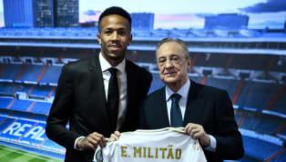 Eder Militão fue presentado con elReal Madriden el mediodía de hoy en el palco de honor del Santiago Bernabéu, por donde ya pasaron Jovic o Hazard entre...