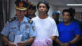 Brezilyalı efsane futbolcu Ronaldinho, sahte pasaport kullandığı gerekçesiyle Paraguay'da hapisteydi. R10, 32 gün cezaevinde kaldıktan sonra 1.6 milyon Dolar...