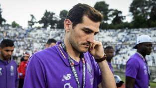 Im Mai erlitt die Torwartlegende Iker Casillas einen Herzinfarkt. Zum Trainingsauftakt stand der ehemalige Keeper von Real Madrid dann bei seinem Arbeitgeber...