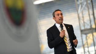 Fenerbahçe Başkanı Ali Koç, sponsorluk anlaşması için düzenlenen imza töreninin ardından basın mensuplarına açıklamalarda bulundu. DHA'da yer alan habere...