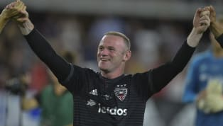 Wayne Rooney just loves a goal from inside his own half. He has already netted two half-way line goals in his career, and he added a stunning third in D.C...