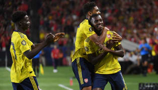 Arsenal temporarily averted attentions from their lack of transfer activity by watching their side beatGerman championsBayern Munich 2-1 intheir...