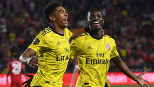 ​Eddie Nketiah continued his excellent pre-season form as Arsenal achieved a resounding victory over Serie A side Fiorentina in their second fixture of the...