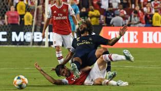 """Im Rahmen des """"International Champions Cup"""" trafen Real Madrid und der FC Arsenal aufeinander. Aus dem Testspiel wurde ein turbulentes und hitziges Spiel,..."""