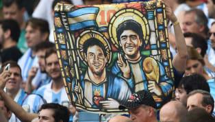 Es muy complicado comparar a dos auténticos genios en esto del fútbol comoLeo Messiy Diego Armando Maradona. Complicado y arriesgado porque son muchos los...