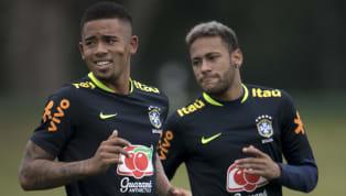 Durant la préparationpour la prochaine Copa America, les Brésiliens peaufinentleur technique en s'adonnant au teqball. La Copa America se disputera au...