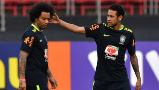 ​Real Madrid defender Marcelo has admitted that he'd like to link up Brazil international Neymar in the Spanish capital, with Paris Saint-Germain's poster boy...