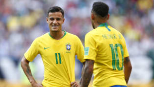​Barcelona's Philippe Coutinho has admitted it 'would be nice' to play alongside Brazil teammate Neymar at club level, as his future with the Catalan side...