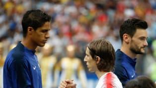 El mensaje de Varane a Modric tras la final del Mundial de Rusia
