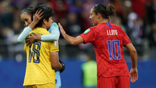 ​USWNT superstar Carli Lloyd had kind words of encouragement for Thailand goalkeeper Sukanya Chor Charoenying after their 13-0 annihilation at the Women's...