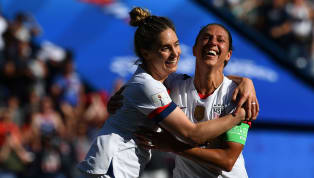 Win USA booked their place in the knockout rounds of the Women's World Cup with a comfortable 3-0 win over Chile on Sunday evening. A brace from Carli Lloyd...