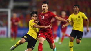 Việt Nam và Malaysia đang đứng đầu bảng G vòng loạiWorld Cup2022 với lần lượt 11 điểm và 9 điểm. Báo Thái Siamsport mong muốn Việt Nam bị Malaysia đánh...