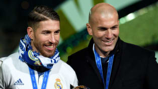 Real Madrid manager Zinedine Zidane has revealed that an injury in Sergio Ramos' calf forced the Frenchman to take the captain off in Los Blancos' 3-2 win...
