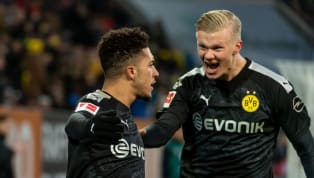 Erling Haaland registered a 23 minute hat trick on his debut as Dortmund edged out Augsburg in a 5-3 thriller to keep pace with those at the top of the...
