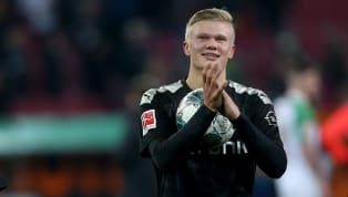 It did not take long Erling Haaland very long to open his scoring account for Borussia Dortmund - ​just three minutes to be exact.  20 minutes later and...