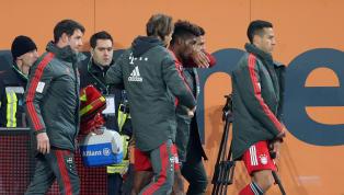 Mit zwei Treffernavancierte Kingsley Coman gegen den FC Augsburg zum Matchwinner. Umso schwerer wiegte der Ausfall des Franzosen gegen Ende der Partie....