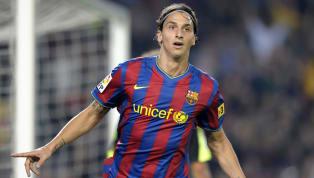 El futbolista sueco llegó al cuadro catalán, y en su primera temporada marcó 22 goles con el Barcelona. Al final se iría del equipo Ac Milán por no adaptarse...