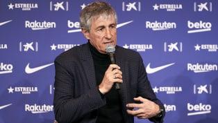 Pelatih baru Barcelona, Quique Setien, hadir di konferensi pers pertamanya sebagai pelatih Blaugrana. Dalam kesempatannya itu mantan pelatih Real Betis...