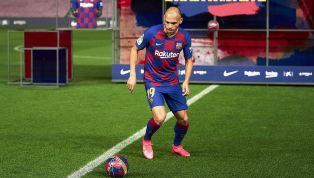 Recruté contre un chèque de dix-huit millions d'euros en provenance de Leganés, Martin Braithwaite a raté une partie de sa séance de jonglage lors de sa...