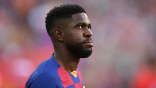 Barcelona have confirmed that centre-back Samuel Umtiti has not travelled with the squad to face Slavia Prague on Wednesday after picking up a knee injury...