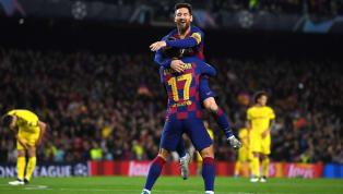 FC Barcelona menang telak 3-1 atas Borussia Dortmund di laga kelima grup F Champions League di Camp Nou, Kamis (28/11) dini hari WIB. Lionel Messi jadi...