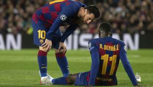 Als Ousmane Dembele am Mittwoch wegen einerVerletzungausgewechselt wurde, ahnten bereits viele Beobachter, dass der französische Pechvogel erneut lange...