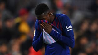 ​Ousmane Dembele has been ruled out of Barcelona's next four games after undergoing tests on a sprained ankle he sustained in the win over Leganes on Sunday....